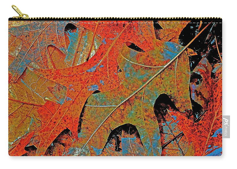 Autumn Carry-all Pouch featuring the photograph Nature's Secrets by Ira Shander