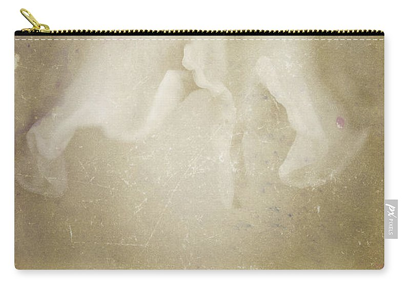 Flowers Carry-all Pouch featuring the photograph Nature's Sensual Form by Timothy Bischoff