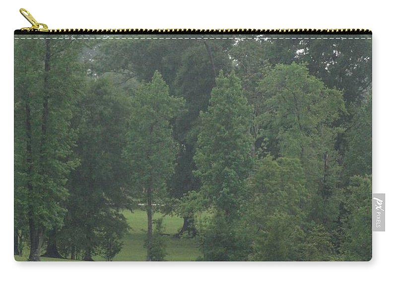 Drama Carry-all Pouch featuring the photograph Nature's Serenity by Joseph Baril