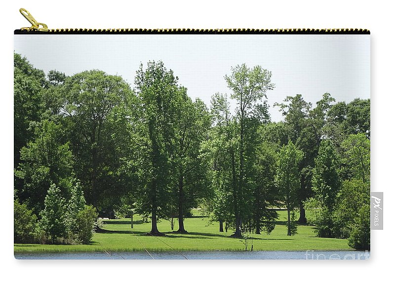 Drama Carry-all Pouch featuring the photograph Nature's Wonders by Joseph Baril
