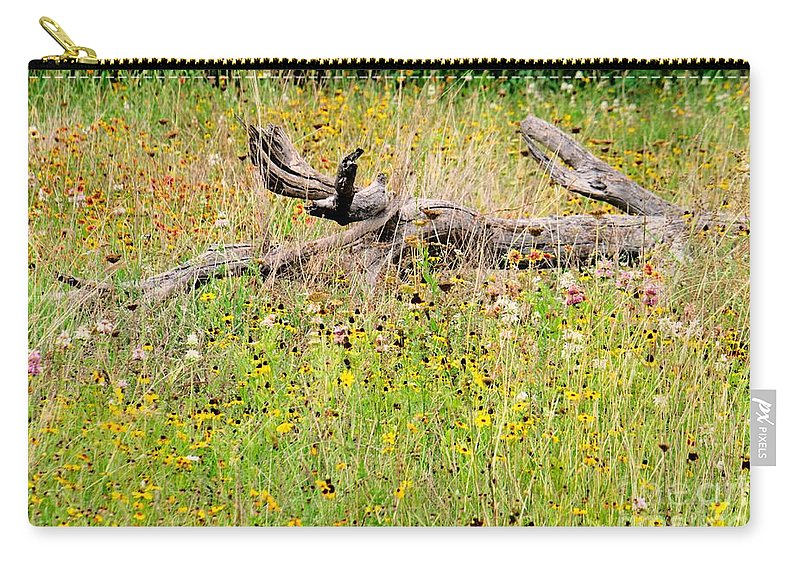 Naturescape Carry-all Pouch featuring the photograph Naturescape by Gary Richards