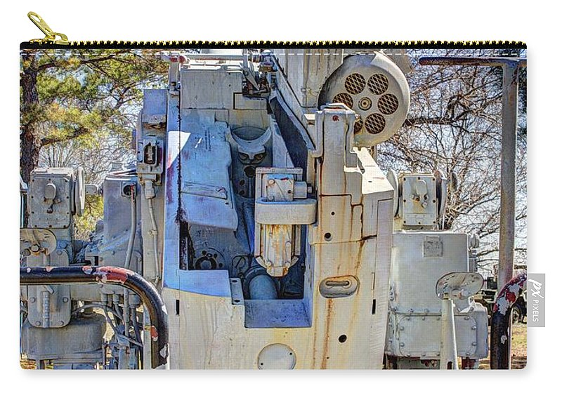 Hdr Carry-all Pouch featuring the photograph Navel Gun Loders Eye View by John Straton