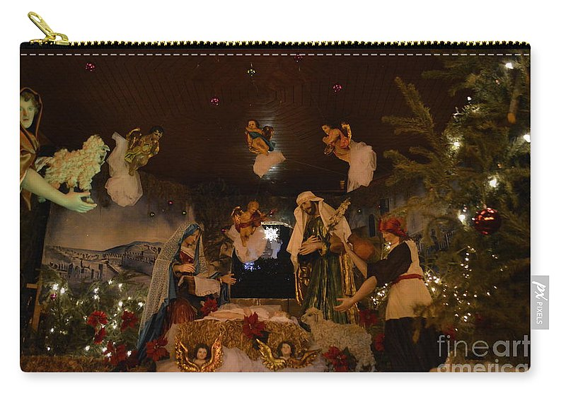 Lifesize Carry-all Pouch featuring the photograph Navidad by Brian Boyle
