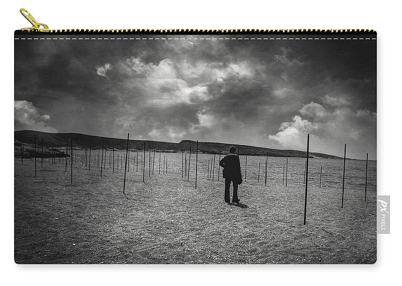 Vintage Carry-all Pouch featuring the photograph Near Life Syndrome by Zapista Zapista