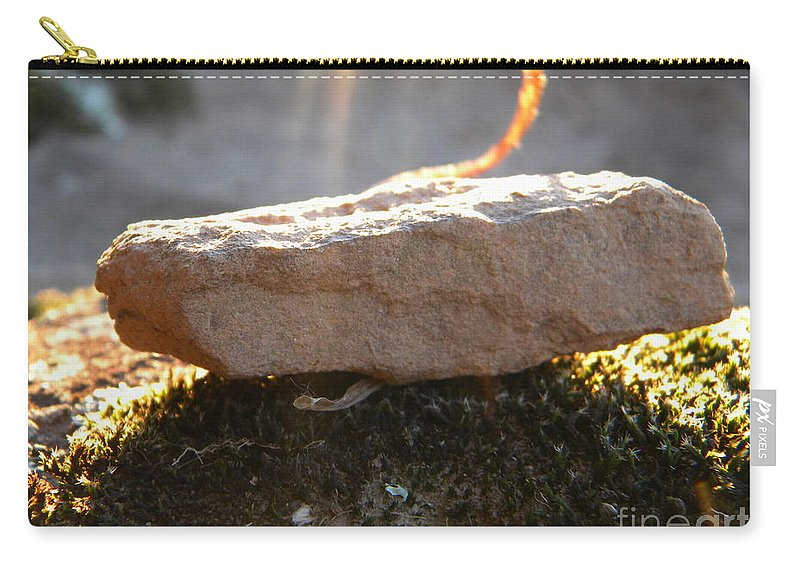 Nebo Carry-all Pouch featuring the photograph Nebo Rock by Nathanael Smith