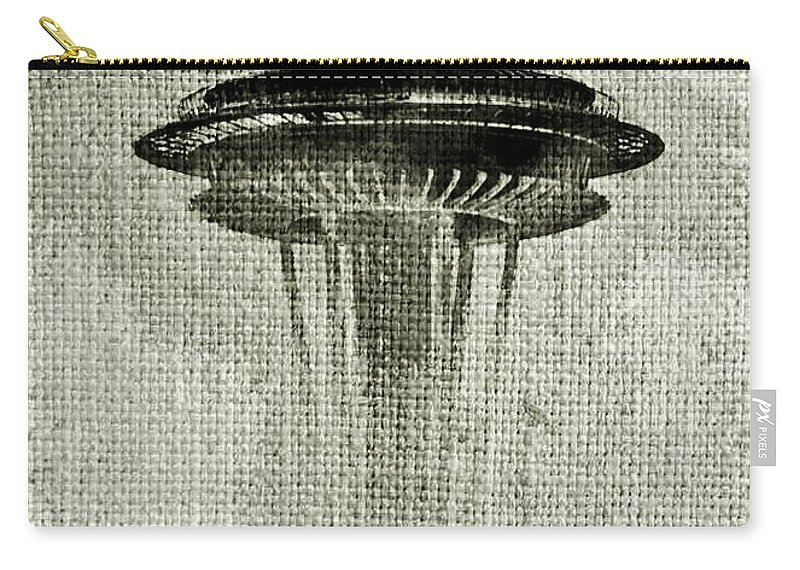Seattle Carry-all Pouch featuring the photograph Needle On Canvas by Benjamin Yeager