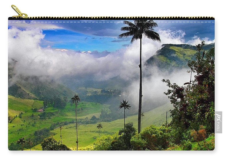 Nephilim Carry-all Pouch featuring the photograph Nephilim by Skip Hunt