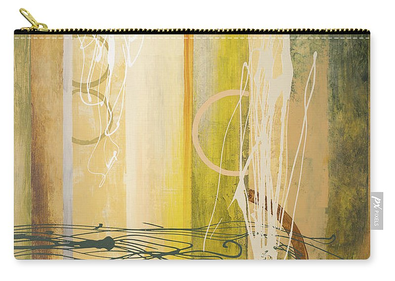 Neutral Carry-all Pouch featuring the painting Neutral Earthbound II by Michael Marcon