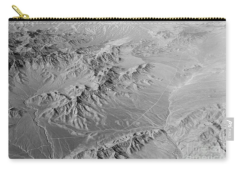 Black And White Carry-all Pouch featuring the photograph Nevada Skyview by Alanna DPhoto