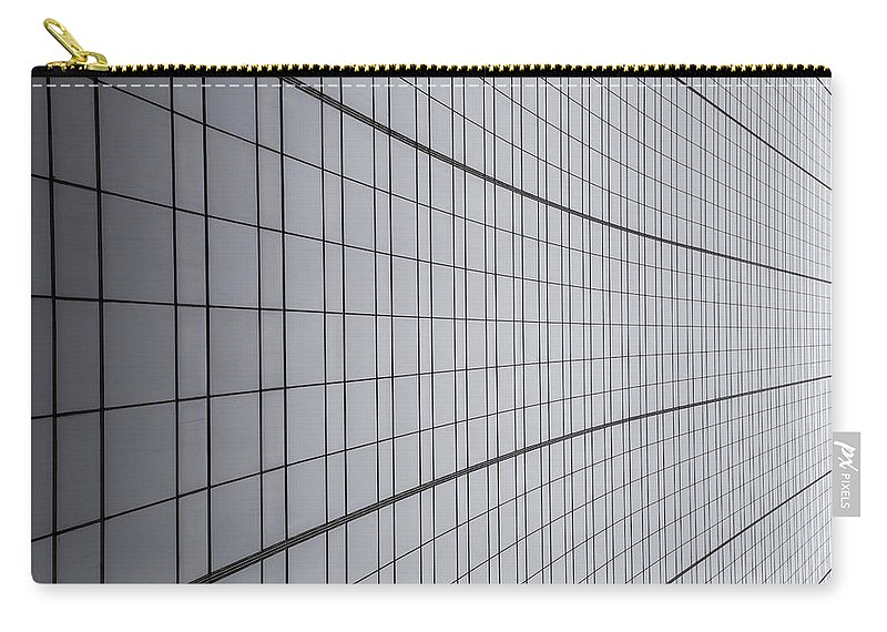Lines Carry-all Pouch featuring the photograph Never Ending by Karol Livote