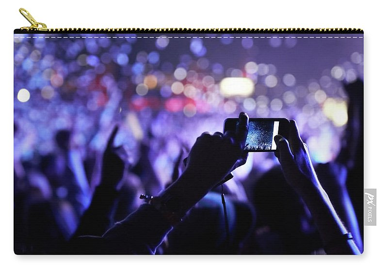 Event Carry-all Pouch featuring the photograph Never Forget This Moment by Peopleimages