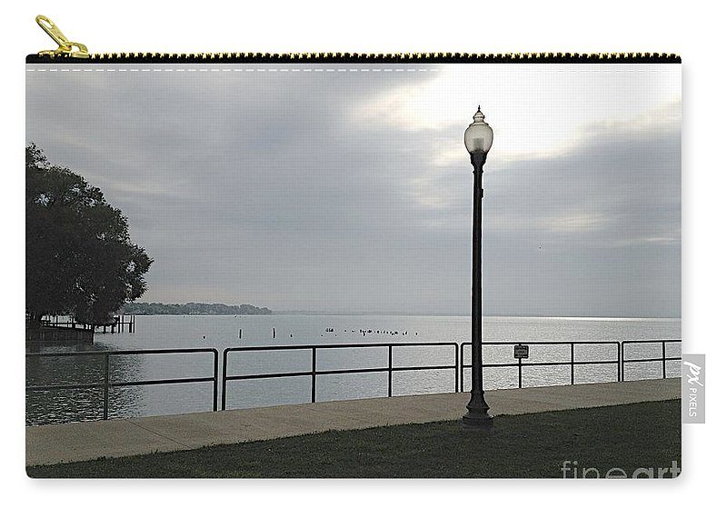Anchor Bay Carry-all Pouch featuring the photograph New Baltimore by Joseph Yarbrough