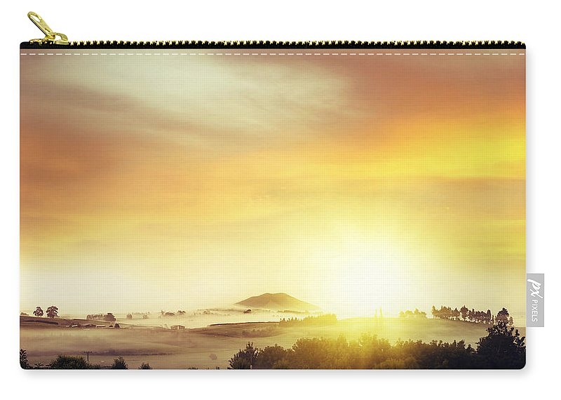 Nature Carry-all Pouch featuring the photograph New Beginning by Les Cunliffe
