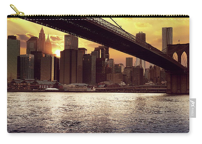 Tranquility Carry-all Pouch featuring the photograph New Beginnings by Aleks Ivic Visuals