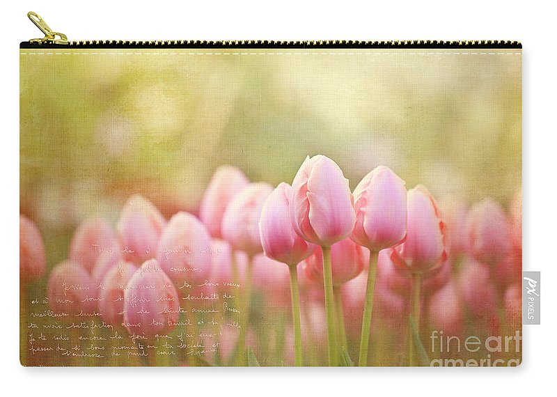 Bloom Carry-all Pouch featuring the photograph New Beginnings by Beve Brown-Clark Photography