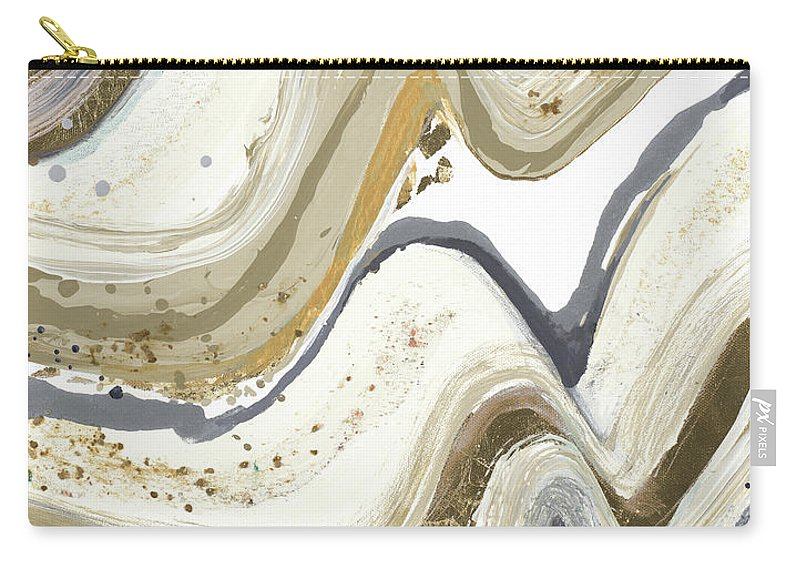 New Carry-all Pouch featuring the painting New Concept Neutral by Patricia Pinto