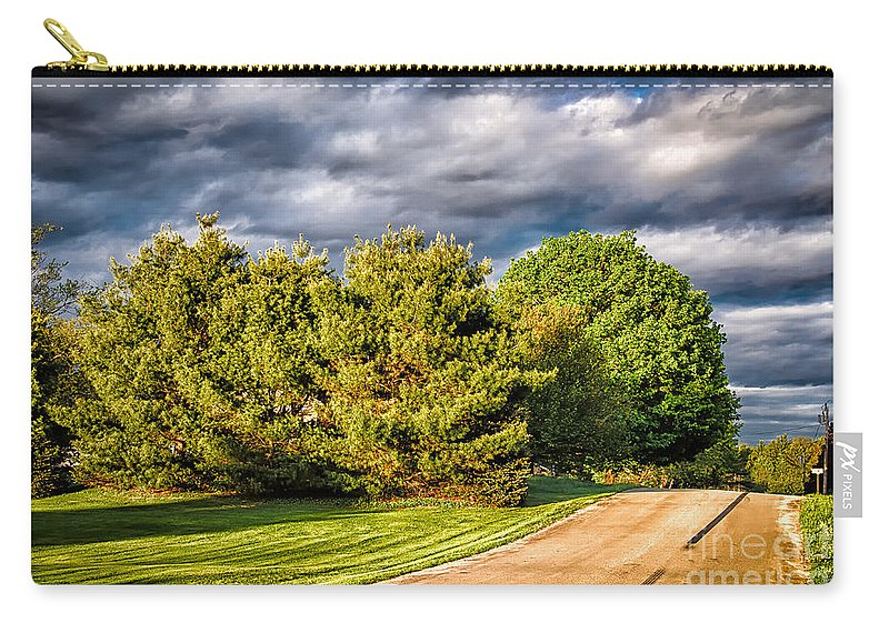 2013 Carry-all Pouch featuring the photograph New England Spring 52 by Mark Myhaver