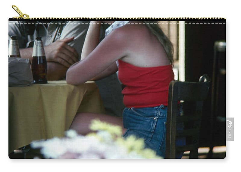 1974 Carry-all Pouch featuring the photograph New Orleans: Couple by Granger
