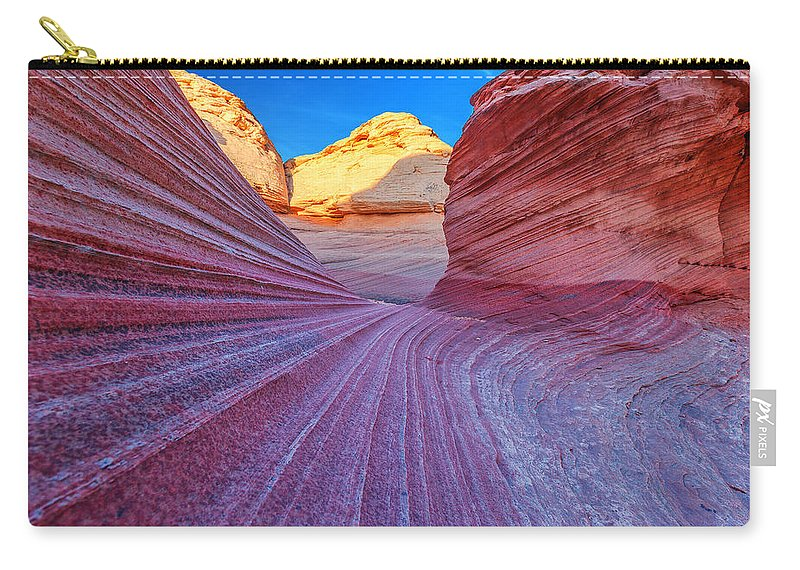Lines Carry-all Pouch featuring the photograph New Wave by Darren White