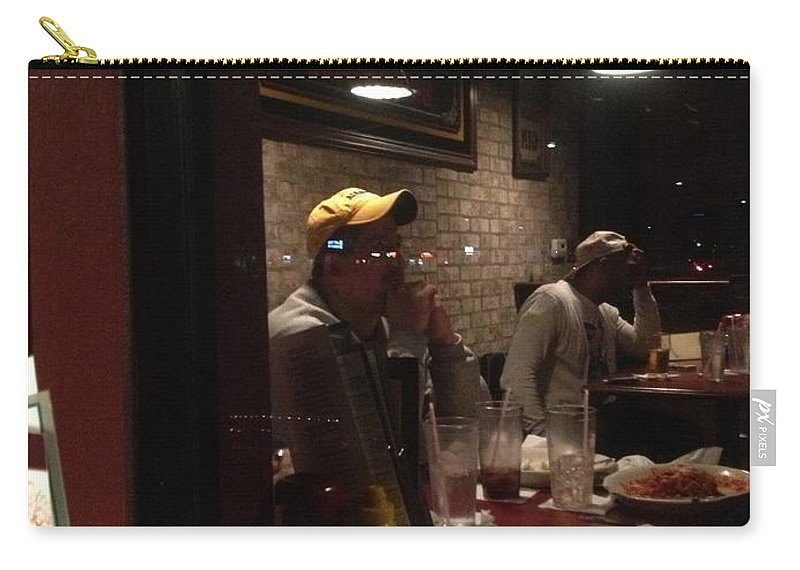 Dinner Carry-all Pouch featuring the photograph New Year's by Joseph Yarbrough