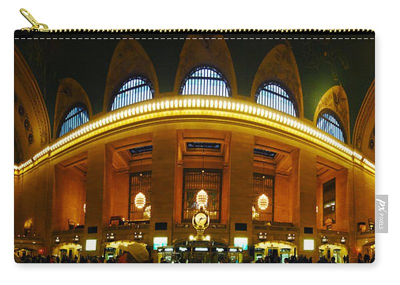 Grand Central Carry-all Pouch featuring the photograph New York - Grand Central Station by Randy Smith