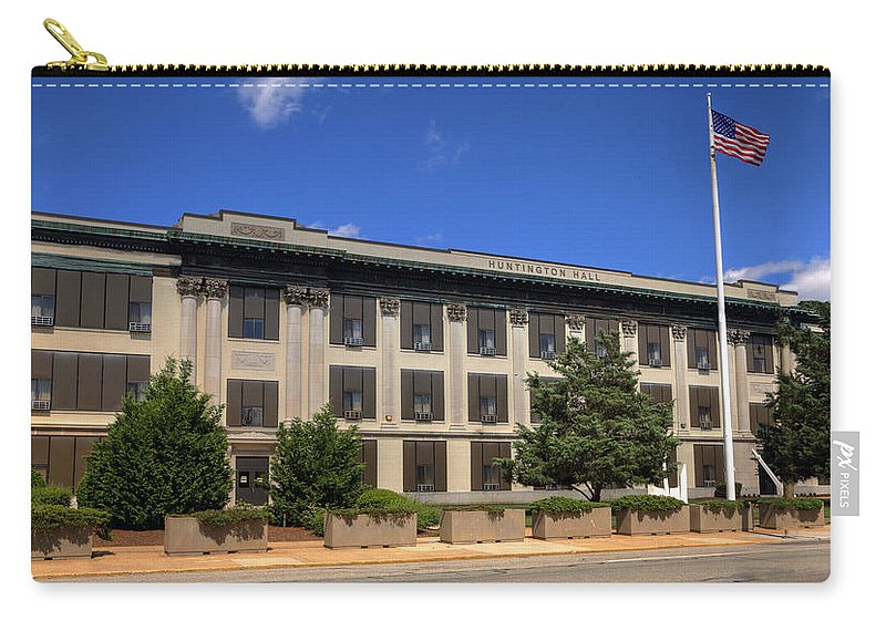 Nnhs Carry-all Pouch featuring the photograph Newport News High School by Jerry Gammon