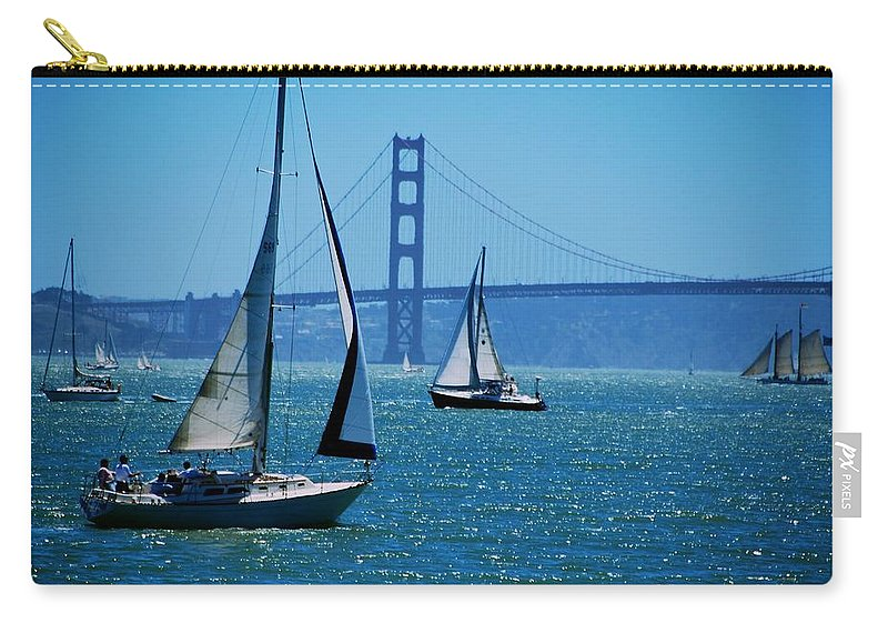 San Francisco Carry-all Pouch featuring the photograph Nice Day On The Bay by Eric Tressler