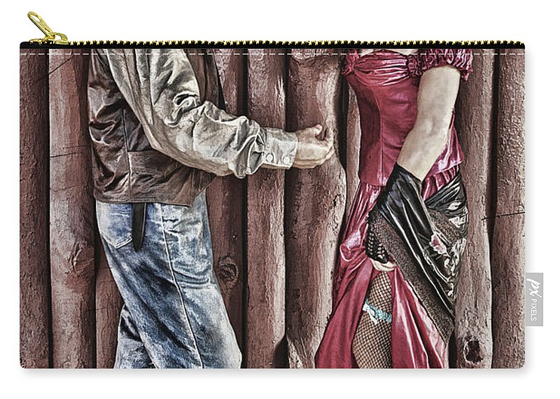Wickenburg Carry-all Pouch featuring the photograph Nice Seeing You by Priscilla Burgers