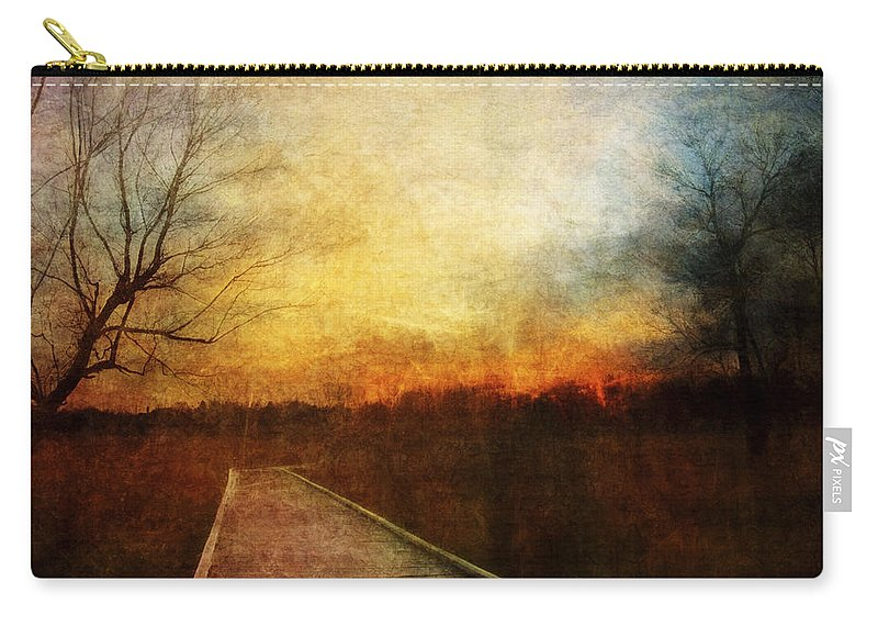 Sunset Carry-all Pouch featuring the photograph Night Falls by Scott Norris