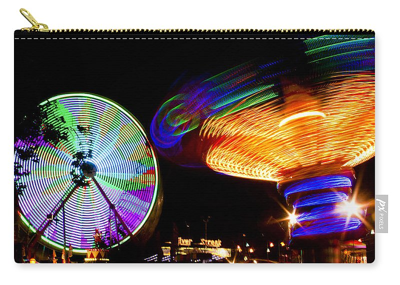 Fair Carry-all Pouch featuring the photograph Night Lights by Caitlyn Grasso
