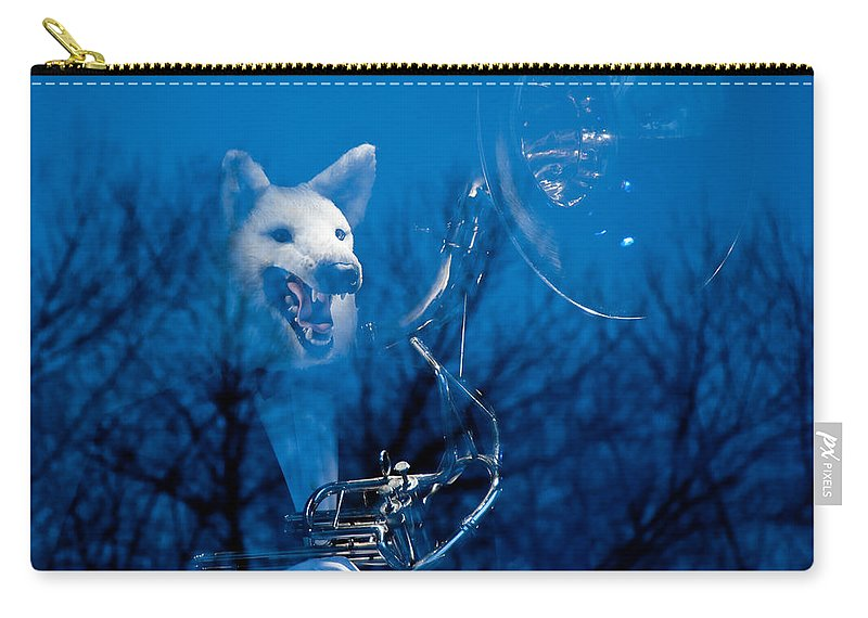 New York Carry-all Pouch featuring the photograph Night Sonata by Zina Zinchik