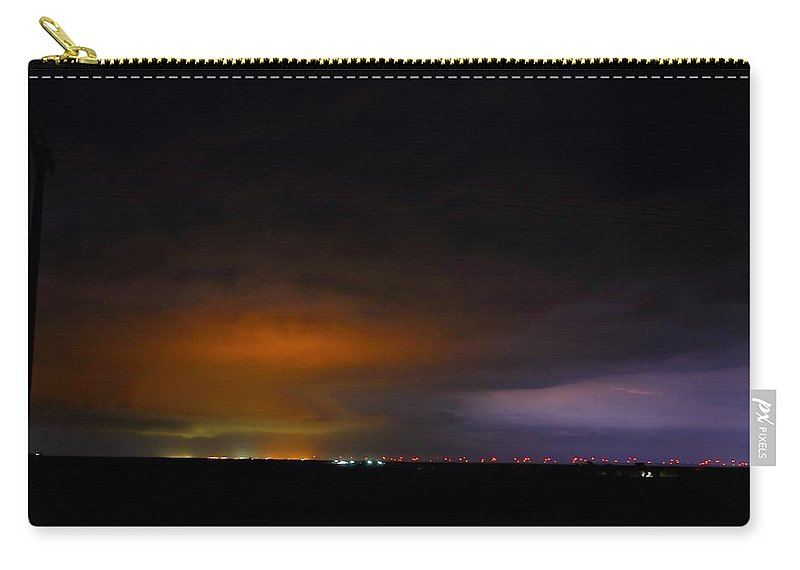 Limon Carry-all Pouch featuring the photograph Nighttime Threat by Marcelo Albuquerque