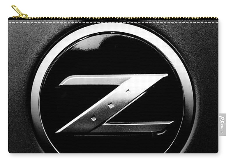 Car Carry-all Pouch featuring the photograph Nissan Z by Jt PhotoDesign