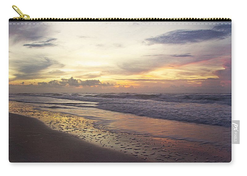 Topsail Carry-all Pouch featuring the photograph No Words by Betsy Knapp
