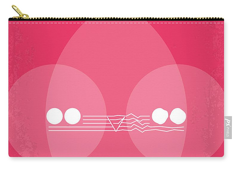 Christine Carry-all Pouch featuring the digital art No016 My Christine Minimal Movie Poster by Chungkong Art
