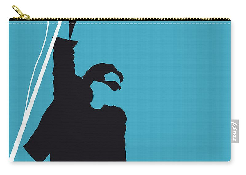 U2 Carry-all Pouch featuring the digital art No035 My U2 Minimal Music Poster by Chungkong Art