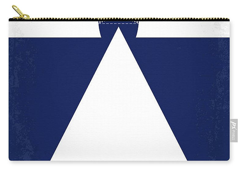 Titanic Carry-all Pouch featuring the digital art No100 My Titanic Minimal Movie Poster by Chungkong Art