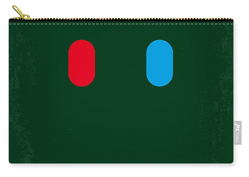 Matrix Carry-all Pouch featuring the digital art No117 My MATRIX minimal movie poster by Chungkong Art