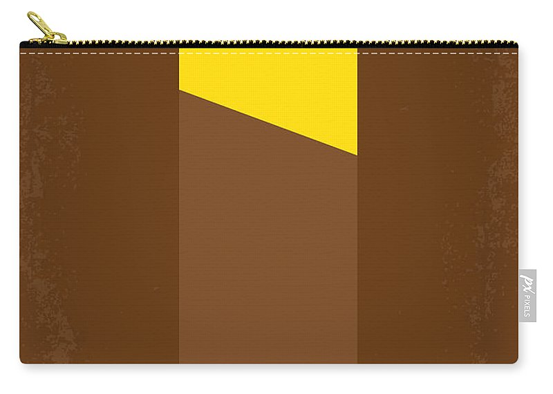 Willy Carry-all Pouch featuring the digital art No149 My Willy Wonka And The Chocolate Factory Minimal Movie Poster by Chungkong Art