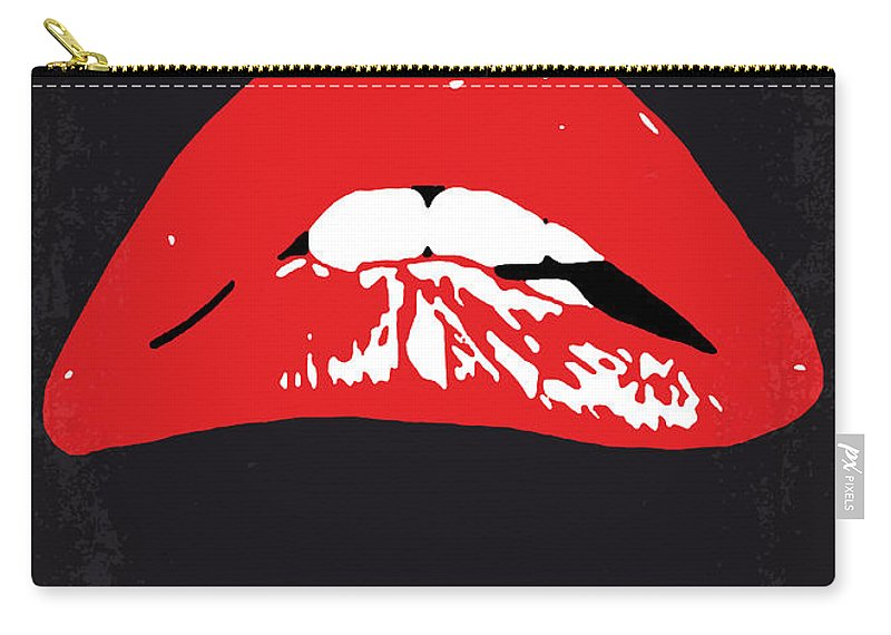 The Carry-all Pouch featuring the digital art No153 My The Rocky Horror Picture Show minimal movie poster by Chungkong Art