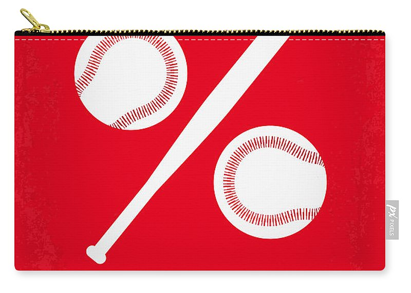 Moneyball Carry-all Pouch featuring the digital art No191 My Moneyball Minimal Movie Poster by Chungkong Art