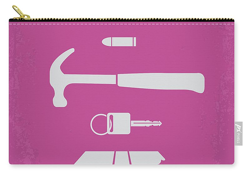 Drive Carry-all Pouch featuring the digital art No258 My Drive Minimal Movie Poster by Chungkong Art