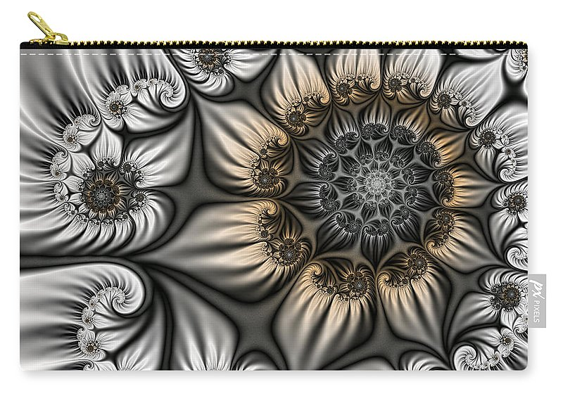 Digital Art Carry-all Pouch featuring the digital art Noblesse by Gabiw Art