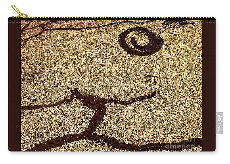 Natural Theme Carry-all Pouch featuring the photograph Noonday Sundance No. 2 by Fei A