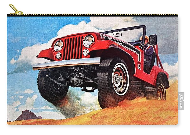 Jeep Carry-all Pouch featuring the photograph Nothing Like It by Benjamin Yeager