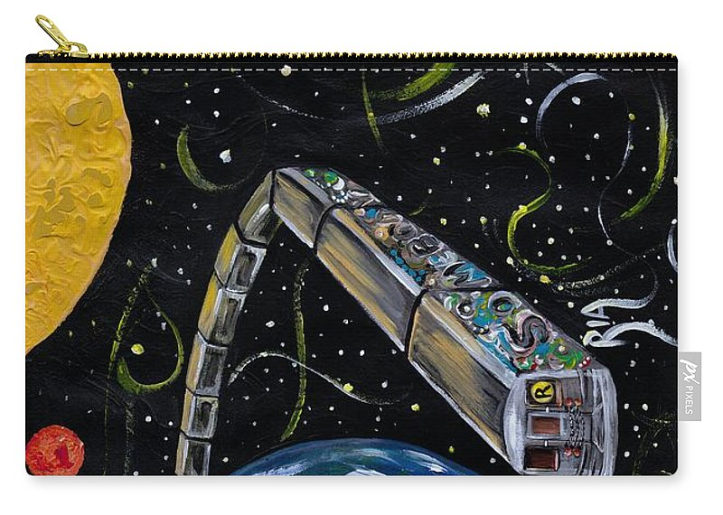 Beautiful Carry-all Pouch featuring the photograph Ny State Of Mind by Artist RiA