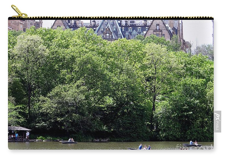 Central Park Carry-all Pouch featuring the photograph Nyc Urban Oasis by Ed Weidman