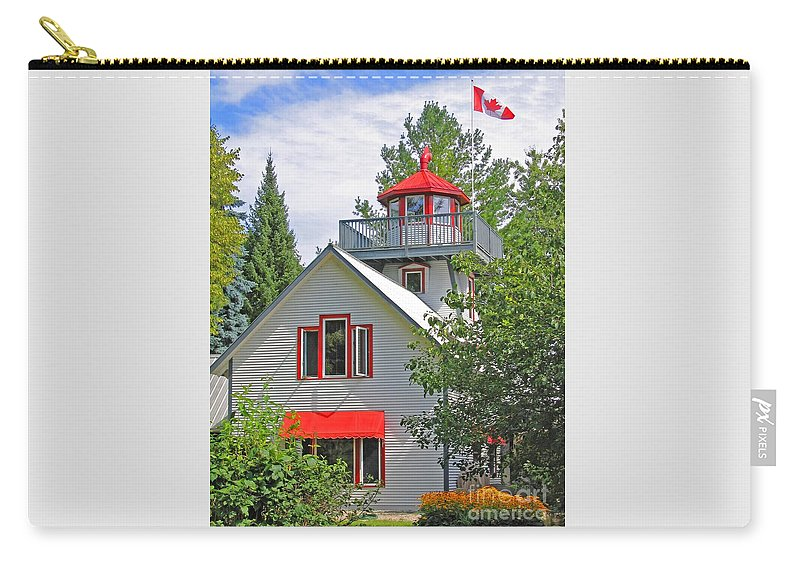 Canada Carry-all Pouch featuring the photograph O Canada by Ann Horn
