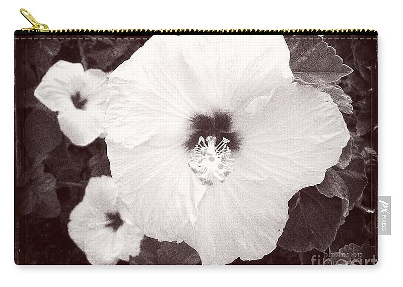 Hibiscus Carry-all Pouch featuring the photograph Oahu Hibiscus by Jamie Johnson