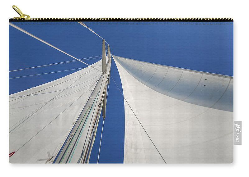 Sails Carry-all Pouch featuring the photograph Obsession Sails 1 by Scott Campbell